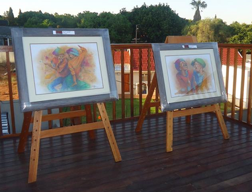 Exhibition Stand Hire Johannesburg : Easel hire togg